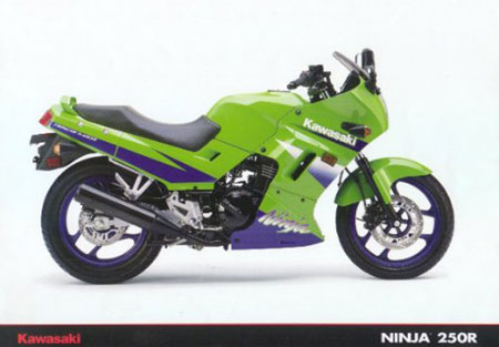 Kawasaki Ninja R Frame With Title
