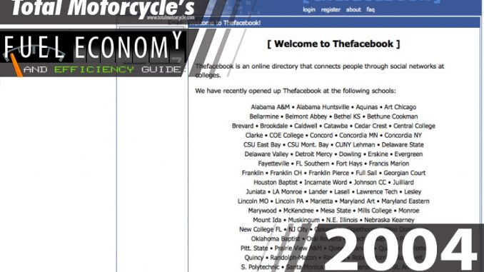 2004 motorcycle model fuel economy guide in mpg and l 100km page 1 rh totalmotorcycle com MPG Calculator Toyota Gas Mileage Chart