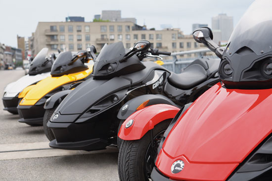 2018 Can Am Spyder Rumors >> 2009 Can-Am Motorcycle Models