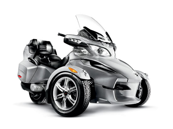 Can Am Roadster >> 2010 Can Am Spyder Rt Roadster