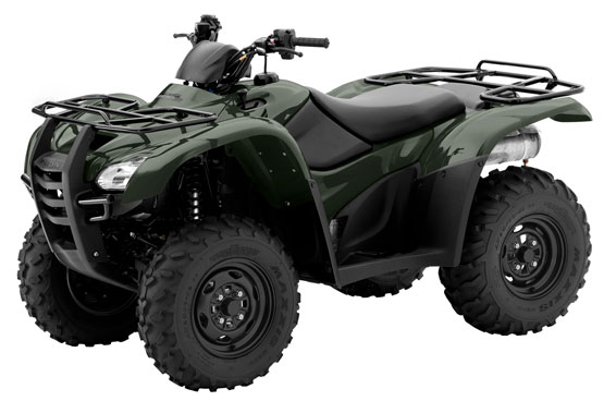 2012 Honda Fourtrax Rancher At Trx420fa Review