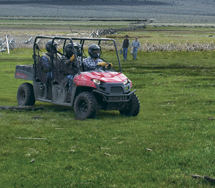 2012 Polaris Ranger Crew 500 Review