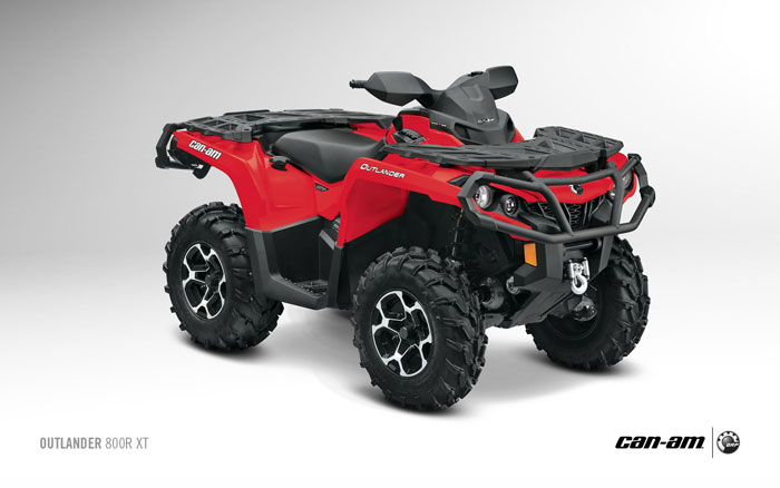 Can Am Outlander 800 >> 2013 Can-Am Outlander XT 800R Review