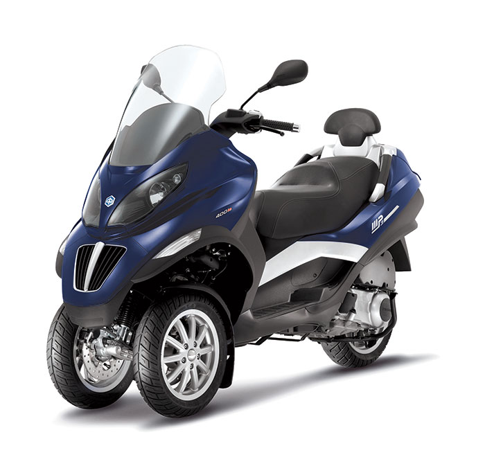 2013 piaggio mp3 400 scooter review. Black Bedroom Furniture Sets. Home Design Ideas