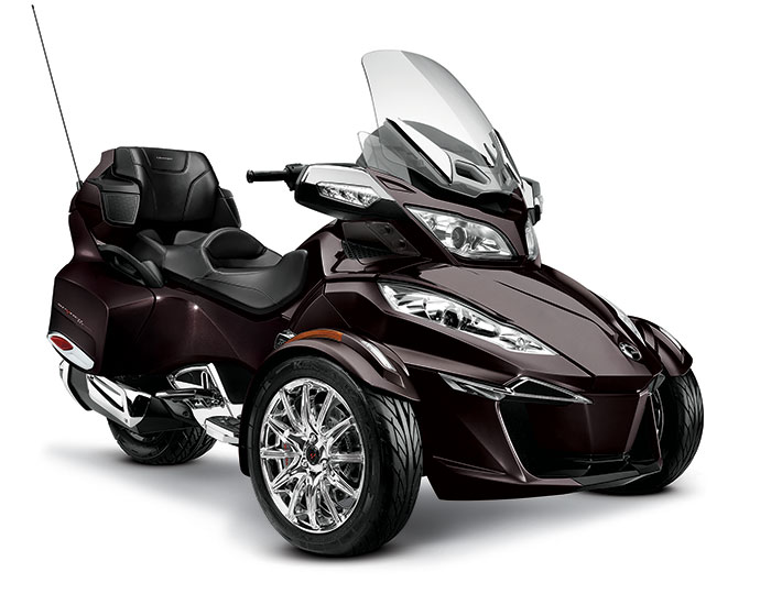 2014 Can Am Spyder Rt Limited Review