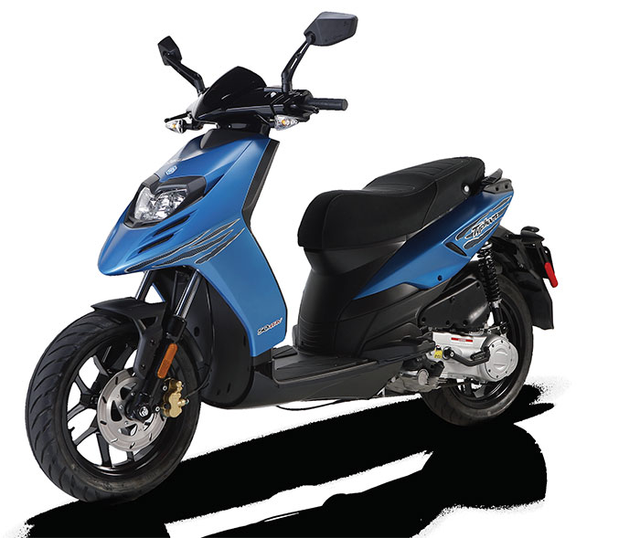 2016 Piaggio Typhoon 50 Review
