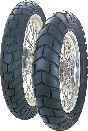 Total Motorcycle Tire Tyre Guide Avon Distanzia Am43 And