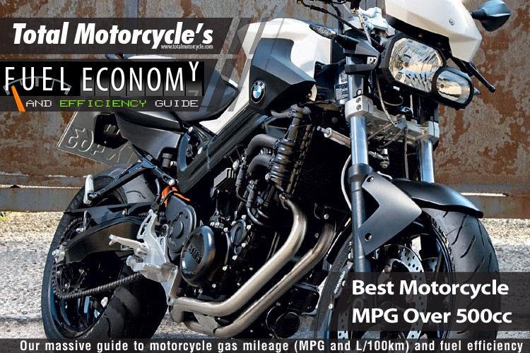 Best Motorcycle Mpg Over 500cc Guide In Mpg And L100km