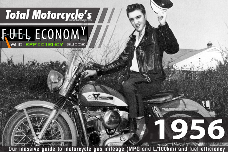 1956 Motorcycle MPG Fuel Economy Guide