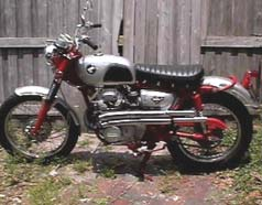 1965 Honda CL77/'75 CL350 Scrambler Custom Built