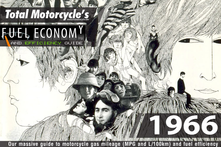 1966 Motorcycle MPG Fuel Economy Guide