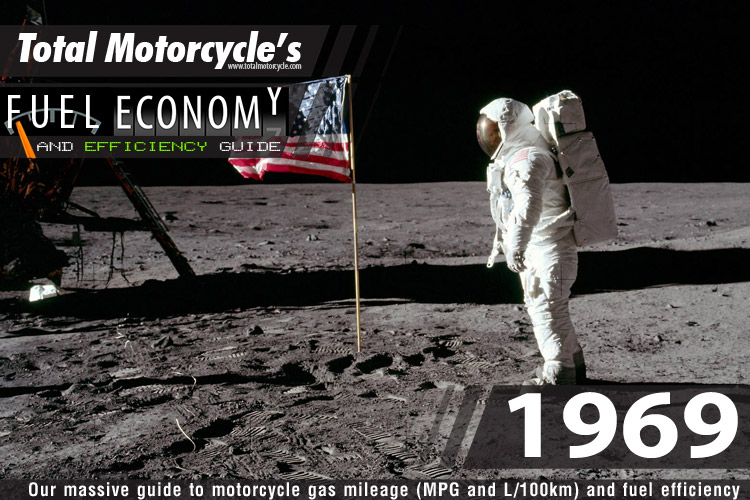 1969 Motorcycle MPG Fuel Economy Guide
