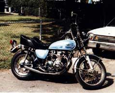 1972 Custom Honda CB500 four