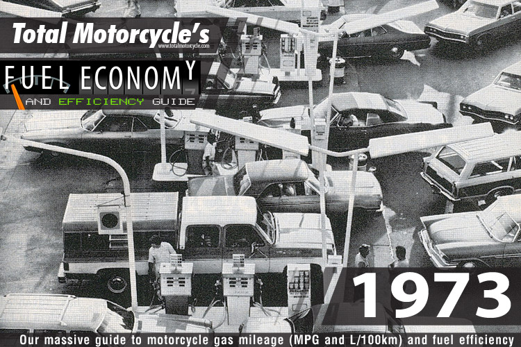 1973 Motorcycle MPG Fuel Economy Guide