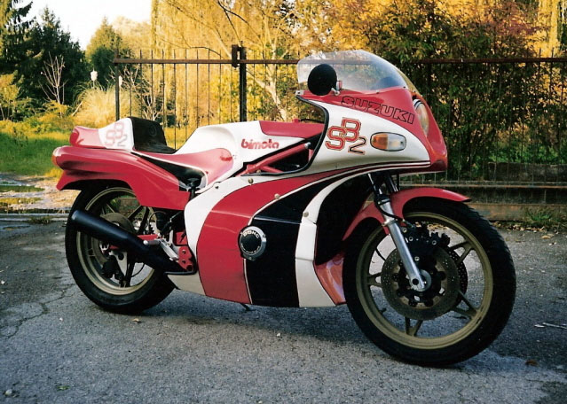 1978 Bimota SB2 Concept with GS750 Engine