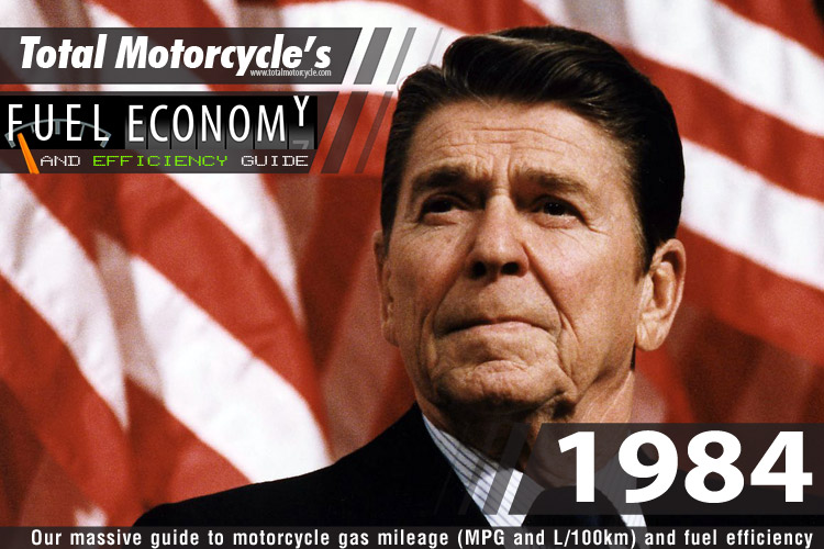 1984 Motorcycle MPG Fuel Economy Guide