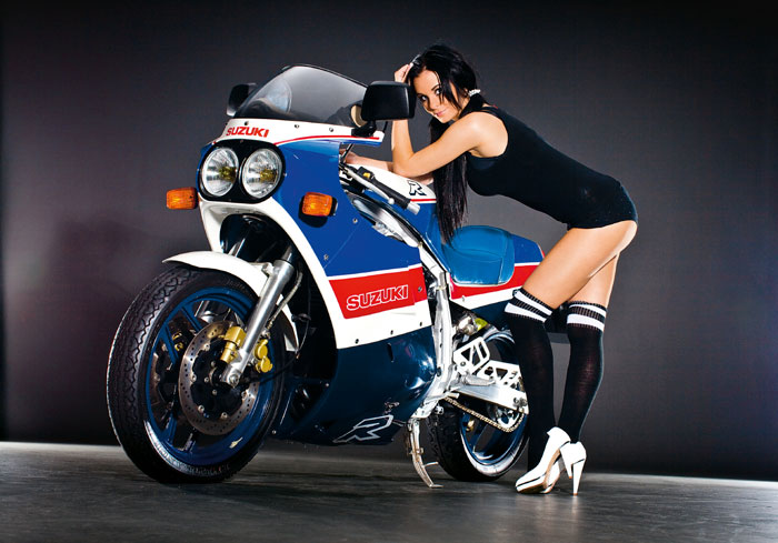 1985 to 1987 - The First Modern Race-Replica, Suzuki GSX-R750