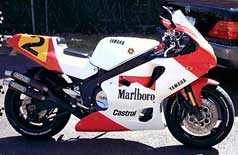 1987 FZR1000 Wayne Rainey replica