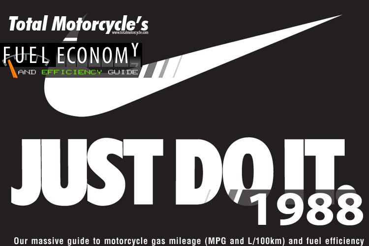 1988 Motorcycle MPG Fuel Economy Guide