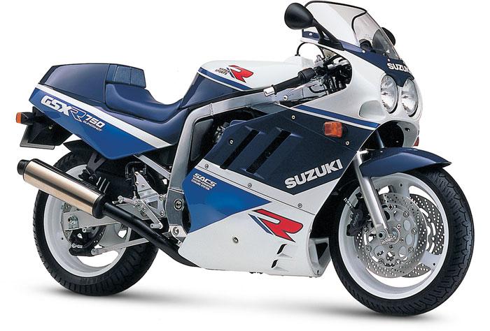 1989 Suzuki GSX-R750