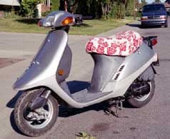 1990 Honda Elite Scooter