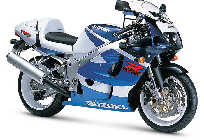 1996 to 1999 - 5th Generation Suzuki GSX-R750: Weight loss diet