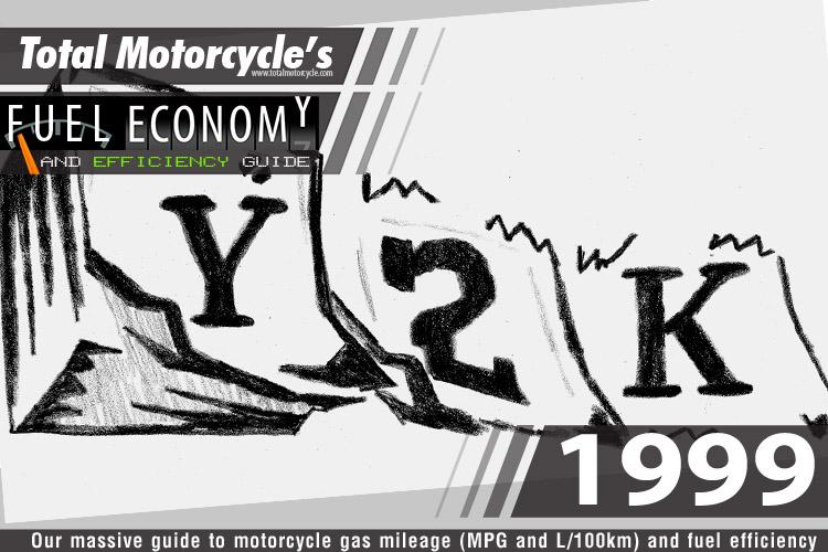 1999 Motorcycle MPG Fuel Economy Guide
