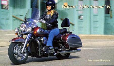 2000 Kawasaki Vulcan 1500 Nomad Fi