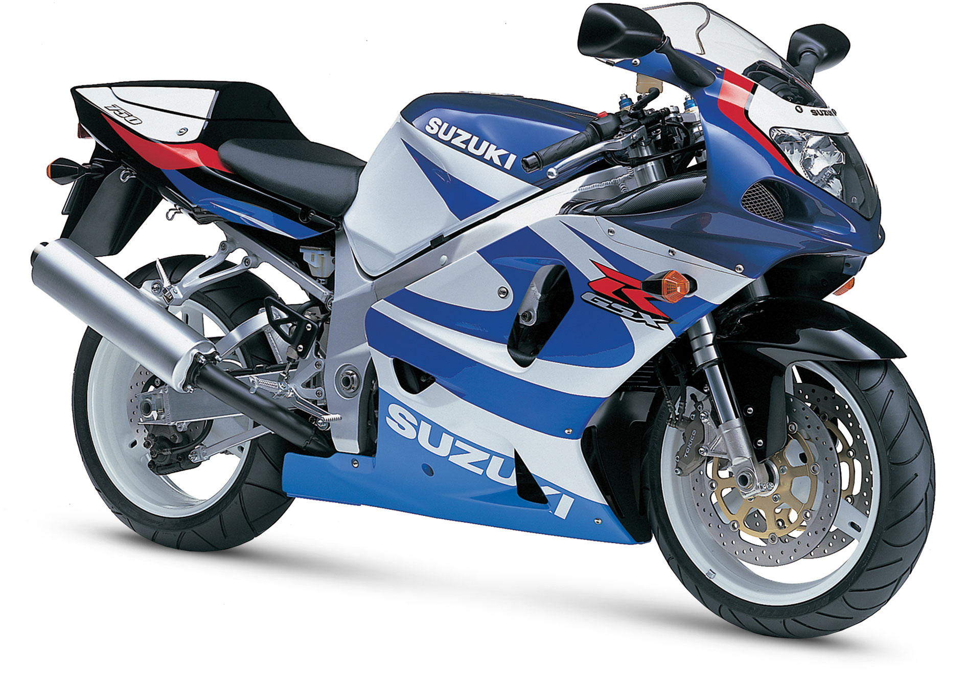 2000 To 2005 6th Generation Suzuki Gsx R750 Lighter Stronger And Faster