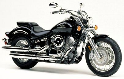 2000 Yamaha V-Star 1100 Custom