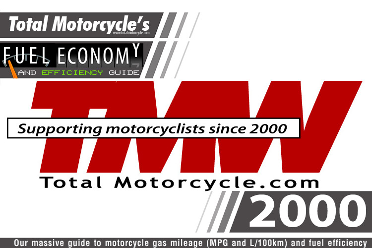 2000 Motorcycle MPG Fuel Economy Guide
