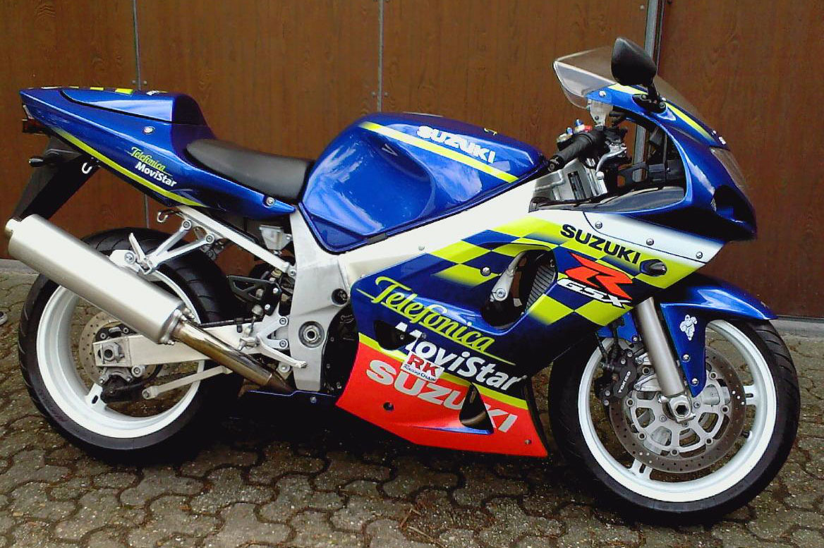 Page 3: 2001 to 2003 - 3rd Generation Suzuki GSX-R600 with Fuel Injection