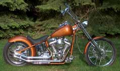 2003 Custom Chrome Hard Core Kit Motorcycle