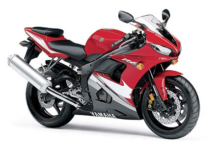 Yamaha R6 Red Edition