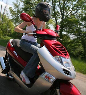 KYMCO Bet and Win 250 Scooter Review 2