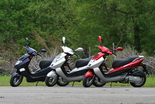 2006 KYMCO Bet and Win 250 Scooter