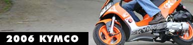 2007 KYMCO Motorcycle and Scooter Models