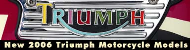 2006 Triumph Motorcycle Models