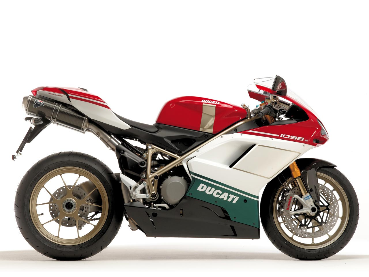 Ducati Monster Tricolore Review