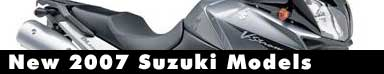 2007 Suzuki Motorcycle Models