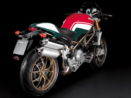 2008 Ducati Monster S4RS Tricolore