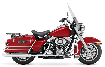 2008 Harley-Davidson Fire/Rescue FLHP Road King