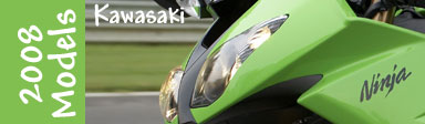 New 2008 Kawasaki Motorcycles Models