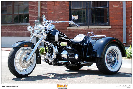 2008 Ridley Auto-Glide Trike Limited Edition