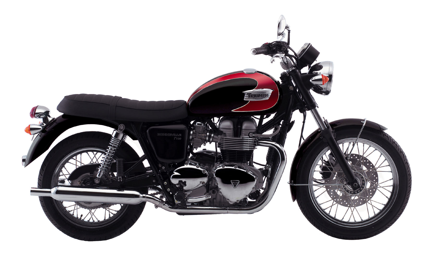 2008 triumph bonneville t100. Black Bedroom Furniture Sets. Home Design Ideas