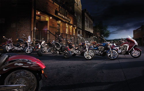 2008 Victory Motorcycle Model Lineup