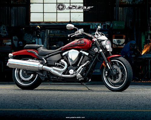 2008 Yamaha Road Star Warrior