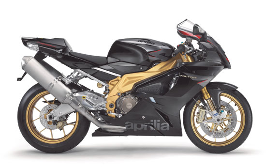 2009 Aprilia RSV 1000 R Factory Black Gold Edition