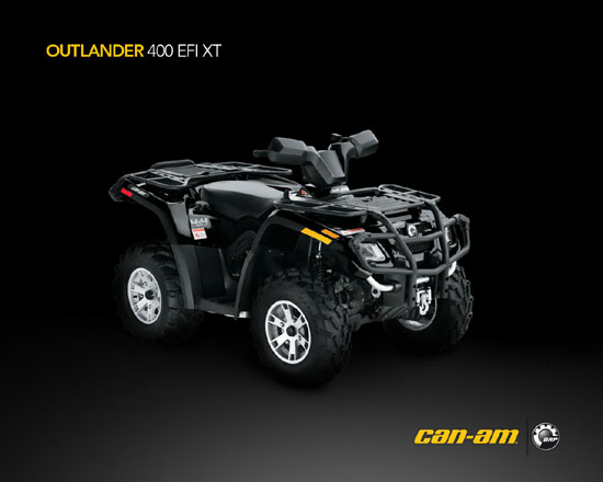 2009 Can-Am Outlander 400 EFI