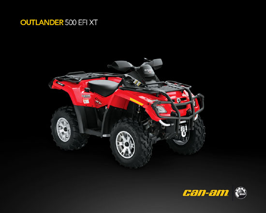 2009 Can-Am Outlander 500 EFI